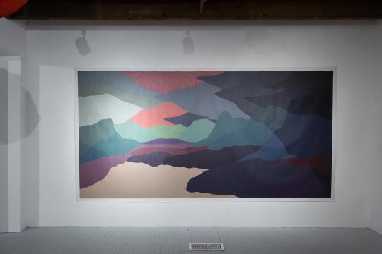 Peinture Fraiche / Nouvelles Constructions (Galerie Art Mûr - Juillet-Août 2018)